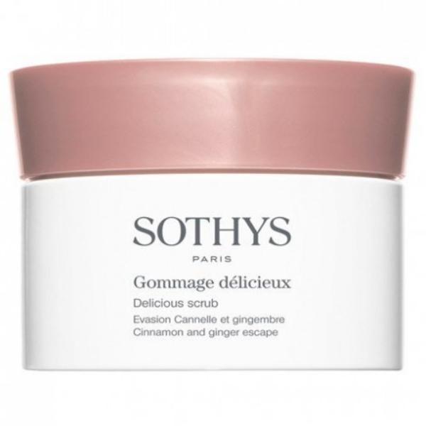 Gel tẩy tế bào chết từ quế và gừng của Sothys là sản phẩm đáng để thử qua.