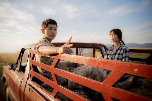 Descendants of the Sun có lượng người hâm mộ cực lớn tại Trung Quốc.