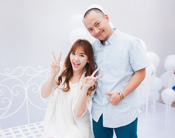 Hari Won và Tiến Đạt đã từng có hơn 8 năm gắn bó, yêu thương nhau.