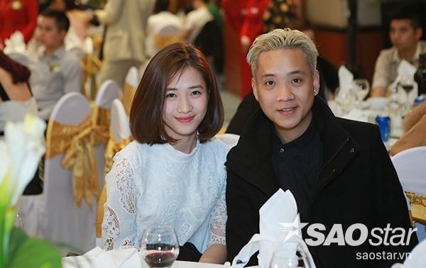 Justa Tee và bạn gái Trâm Anh.