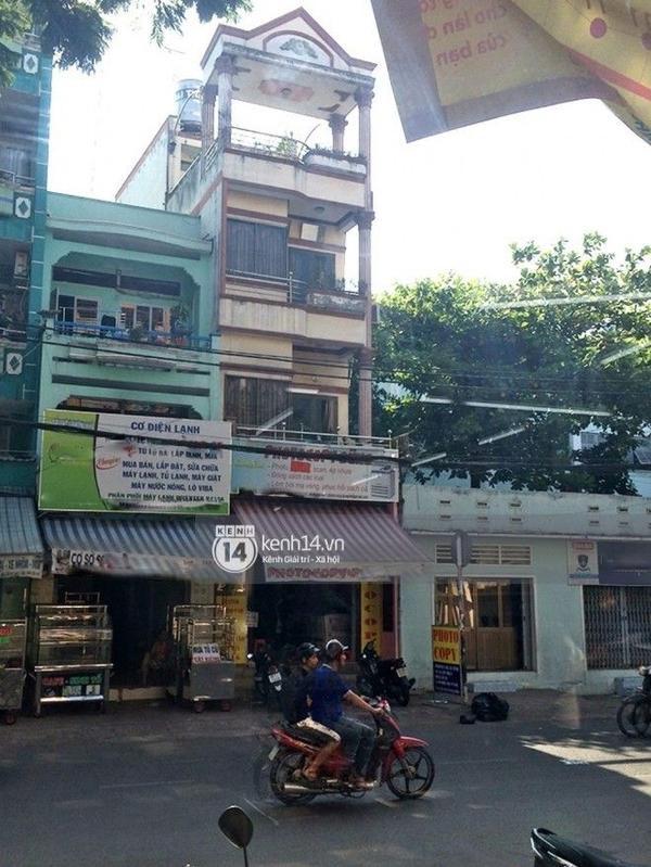 Ngôi nhà mà cả gia đình Minh Béo gồm có: Mẹ, anh trai, chị dâu, cháu trai đang sống.