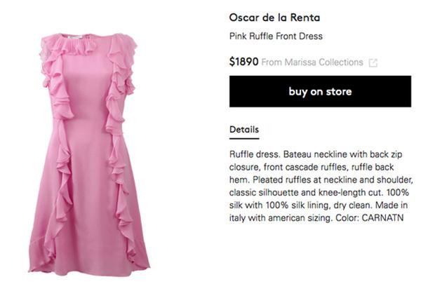 Thêm một mẫu đầm thiết kế của Oscar de la Renta có giá lên tới gần 40 triệu được Mỹ Tâm sử dụng trong MV mới.
