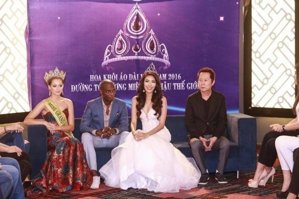 Chia sẻ sau buổi đón tiếp, ông Nawat Itsaragrisil cho biết ông rất ấn tượng với những gì Lan Khuê đã thế hiện trong cuộc thi Hoa hậu Thế giới 2015 và những gì cô đã thể hiện trong suốt sự nghiệp của mình.