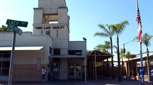 Nơi Minh Béo đang bị tạm giam - nhà tù Theo Lacy Facility. (Hình: Ngọc Lan)