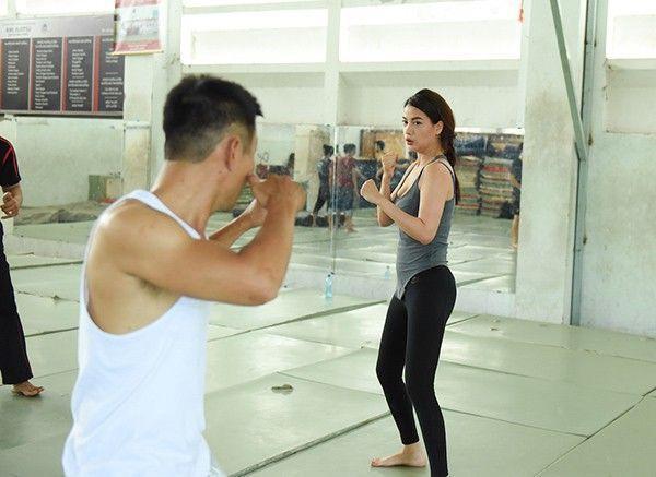 Trương Ngọc Ánh hăng say tập luyện võ thuật để chuẩn bị cho concert đặc biệt sắp tới.