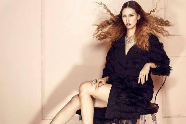 Kiểu tóc này từng thay đổi diện mạo một cách xuất sắc cho cô nàng sếu Hồng Xuân của Vietnam's Next Top Model.