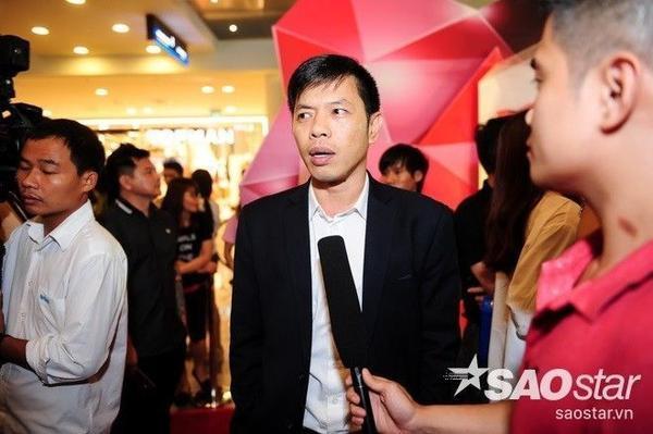 Diễn viên hài Thái Hòa cũng có mặt để tham dự buổi lễ ra mắt.