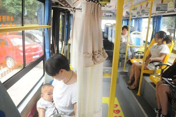 Thiết kế không gian riêng tư để các mẹ thoải mái cho con bú