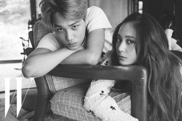 """Cặp đôi Kai và Krystal đang khiến nhiều fan """"phật lòng""""."""