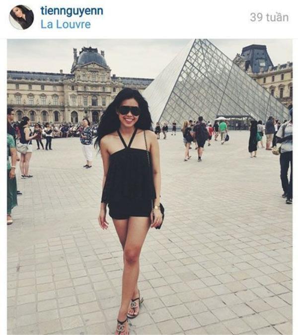 Instagram của Thủy Tiên luôn khiến người ta ganh tỵ bởi những chuyến du lịch nước ngoài.