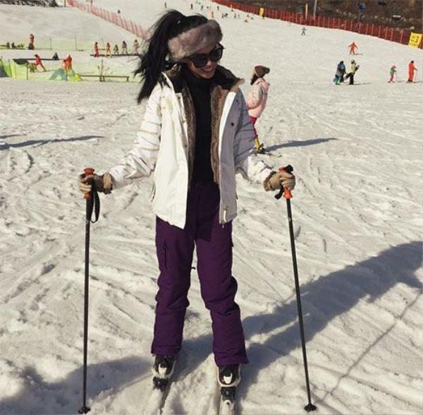 Đi trượt tuyết...
