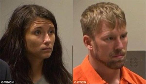 eanie Ditty và bạn trai Zachary Earl Keefer xuất hiện trước tòa vào thứ Hai sau khi cảnh sát xác nhận con gái Ditty bị bạo hành.