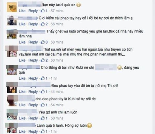 Ngay sau khi chia sẻ trên Facebook được ít giờ, hình ảnh đáng yêu của Kubi nhanh chóng nhận được rất đông sự quan tâm của người hâm mộ.