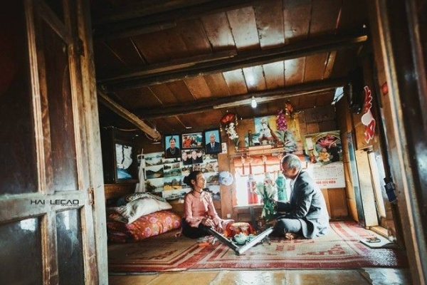 Ông Thành và bà Thủy về một nhà đã được 47 năm nhưng chưa một lần được tổ chức đám cưới.
