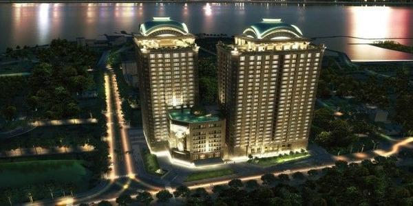 Vị trí siêu đẹp cho một căn hộ cao cấp ở Hà Nội.