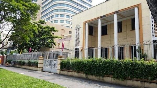 Mảnh đất trước đây từng là trụ sở của công ty Xổ số kiến thiết TP HCM