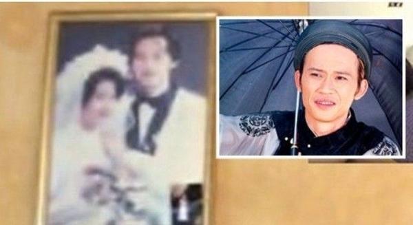 Ảnh cưới hiếm hoi của Hoài LInh bị lộ ra bên ngoài.