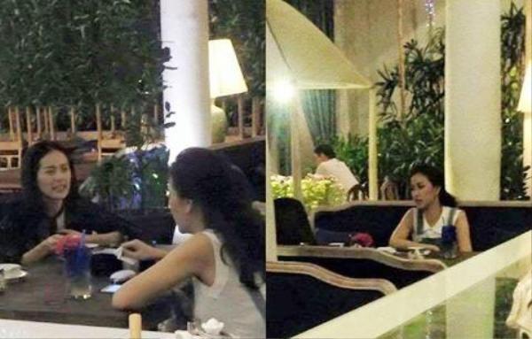 Trước đó, hai người đẹp từng bị bắt gặp đi ăn tối với nhau.