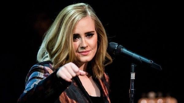 Mandatory Credit: Photo by REX/Shutterstock (5490909ag) Adele 'Skavlan' TV Show filming at the London Studios, Britain - 03 December 2015