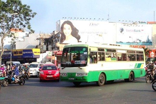 Xe buýt của TP HCM đã quá cũ kỹ.