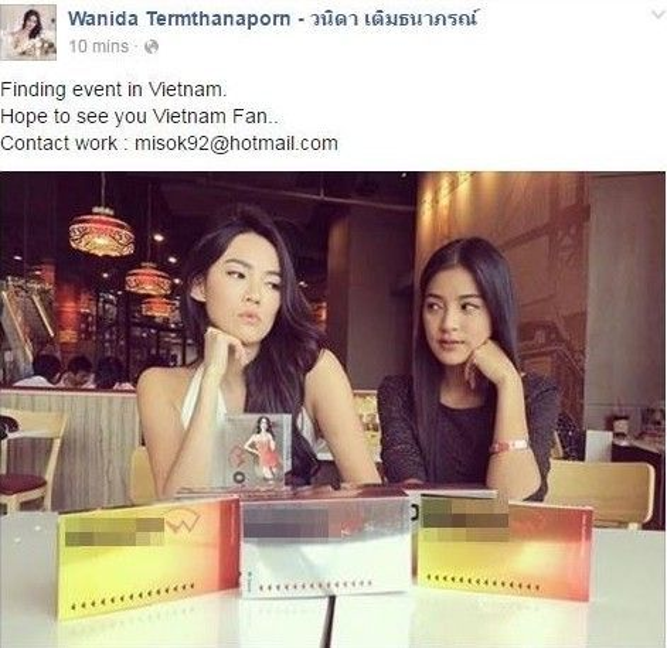 Hai nữ diễn viên chính Katun và Lee ''tìm đường'' sang Việt Nam.