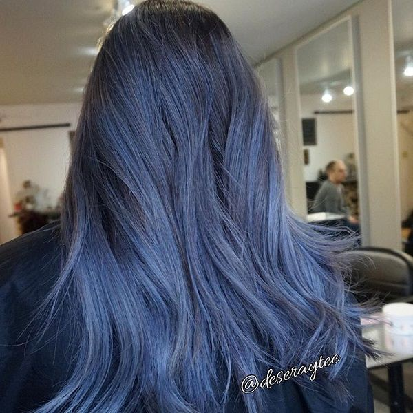 Ombre hair tumblr black to brown