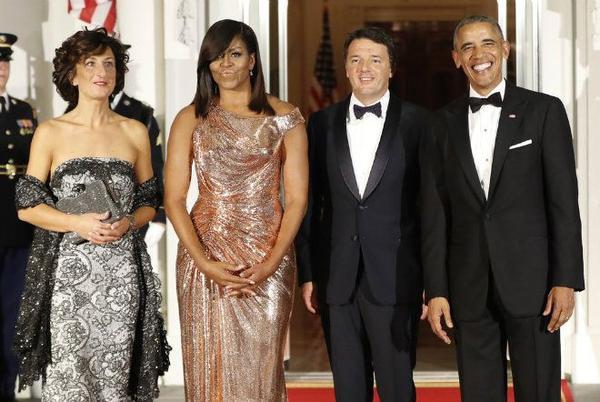 """Buổi quốc yến thứ 13 cũng là buổi quốc yến cuối cùng trong nhiệm kỳ của Tổng thống Barack Obama đã được tổ chức vào 18/10/2016 để thiết đãi Thủ tướng Italy Matteo Renzi và phu nhân. Tổng thống Obama đã nhiều lần bày tỏ sự xúc động trong buổi tiệc. Ông chia sẻ: """"Sau cùng, điều quan trọng là chúng ta đã làm được gì và để lại những gì. Đó mới là thứ sẽ tồn tại vĩnh viễn sau khi chúng ta ra đi"""""""
