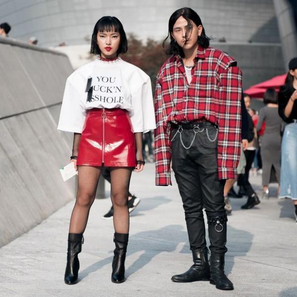 seoul fashion week street style 2017 ile ilgili görsel sonucu
