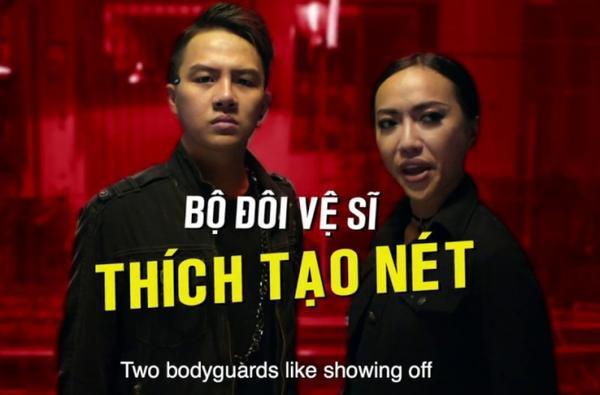 Duy Khánh đóng vai vệ sĩ trong Chạy đi rồi tính.
