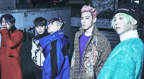Big Bang - nhóm nhạc đang càn quét bảng xếp hạng Billboard thế giới