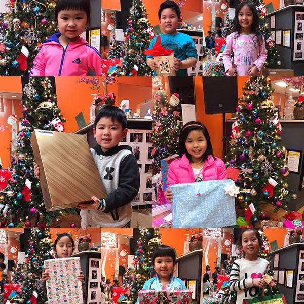 Cậu út nhà Bằng Kiều - Trizzie Phương Trinh chuẩn bị Giáng sinh rộn ràng với bạn bè.