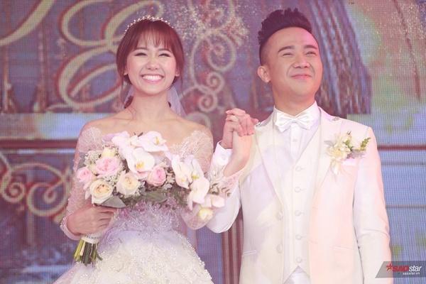 Cả hai đã chính thức trở thành vợ chồng.