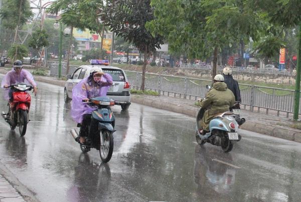 Bắc Bộ tiếp tục mưa lớn, có nơi xuống tới 12 độ C