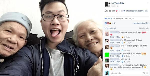 Đây chính là nguyên mẫu trong 'Ông bà anh' của Lê Thiện Hiếu: vui vẻ và biết cả selfie! ảnh 1