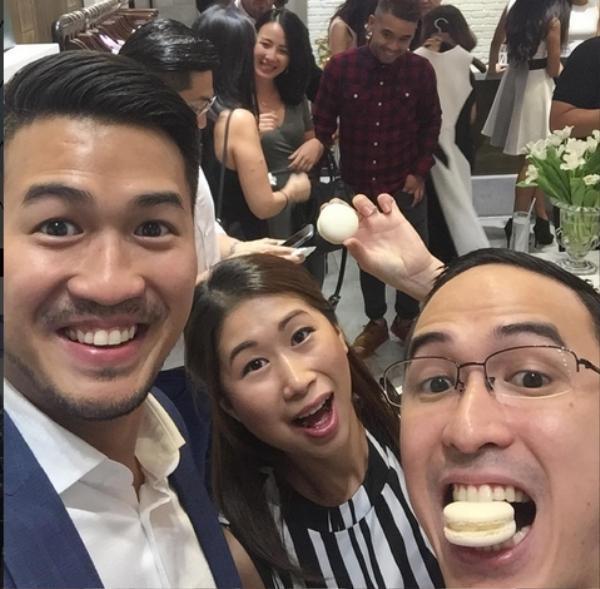 Stephanie Nguyễn thường xuyên xuất hiện cùng hai em trai Louis và Phillip tại nhiều sự kiện ở Việt Nam.