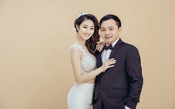 Cách đây ít ngày, Thu Ngân cùng ông xã đã đi chụp ảnh cưới tại Hà Nội.