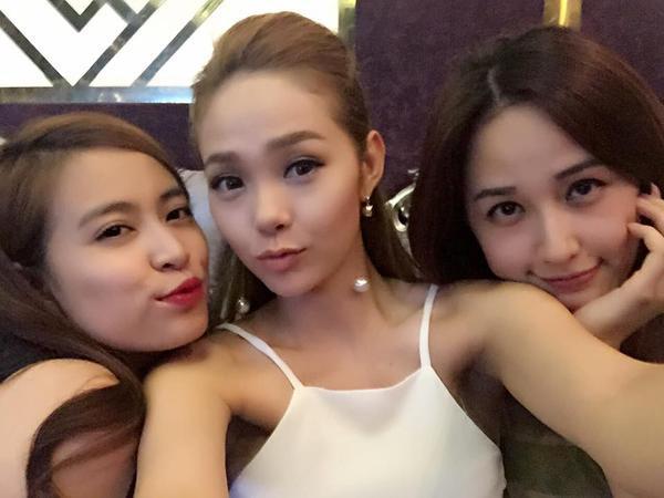 """Nổi tiếng với tình bạn cực thân thiết, Hoàng Thuỳ Linh và Mai Phương Thuý, Minh Hằng nhiều lần khiến fan phải """"điêu đứng"""" trước những khoảnh khắc vô cùng dễ thương."""