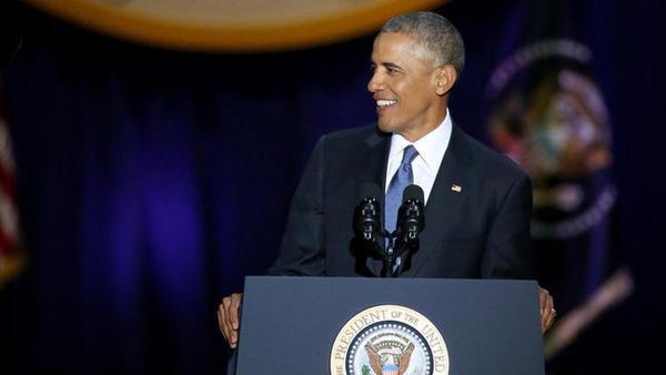 Lời chào kết đầy cảm xúc của Tổng thống Obama sau 8 năm thay đổi nước Mỹ