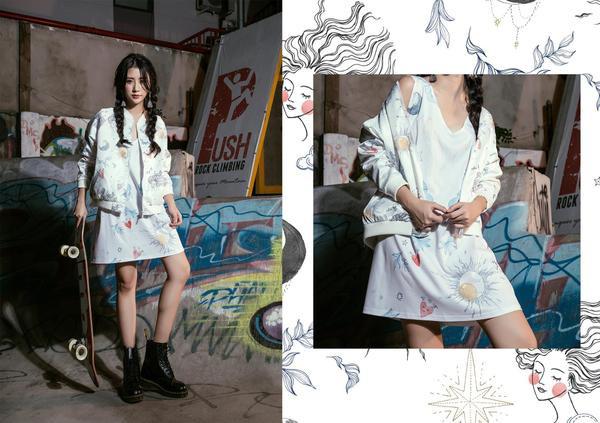 Ngày càng tài năng, Quỳnh Anh Shyn giờ còn chuyển hướng sang làm NTK thời trang - ảnh 2