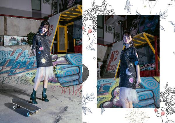 Ngày càng tài năng, Quỳnh Anh Shyn giờ còn chuyển hướng sang làm NTK thời trang - ảnh 3