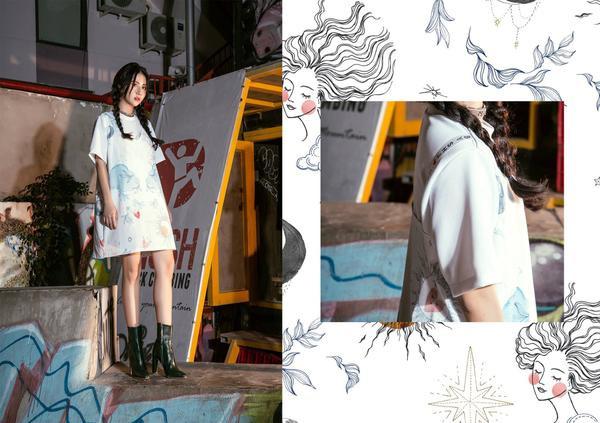 Ngày càng tài năng, Quỳnh Anh Shyn giờ còn chuyển hướng sang làm NTK thời trang - ảnh 4