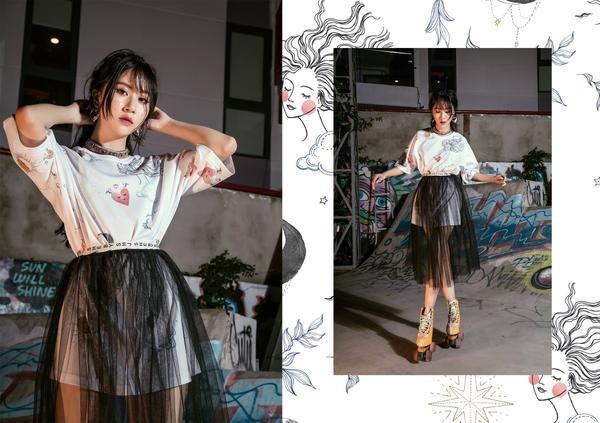 Ngày càng tài năng, Quỳnh Anh Shyn giờ còn chuyển hướng sang làm NTK thời trang - ảnh 6