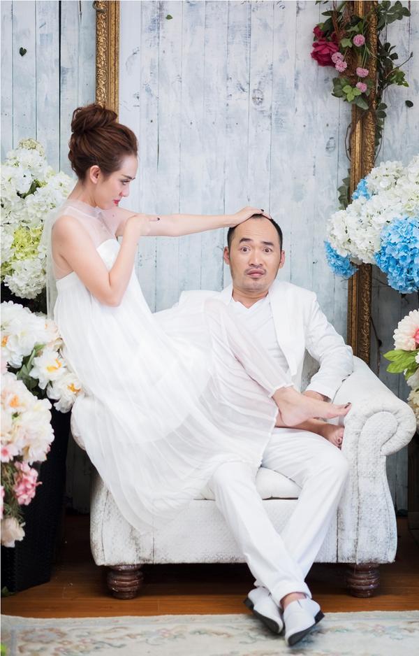 Thu Trang - Tiến Luật kỷ niệm 6 năm ngày cưới: 'Vẫn cứ yêu và say như thế!' - ảnh 5