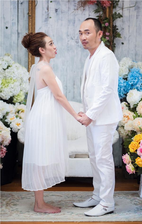 Thu Trang - Tiến Luật kỷ niệm 6 năm ngày cưới: 'Vẫn cứ yêu và say như thế!' - ảnh 7