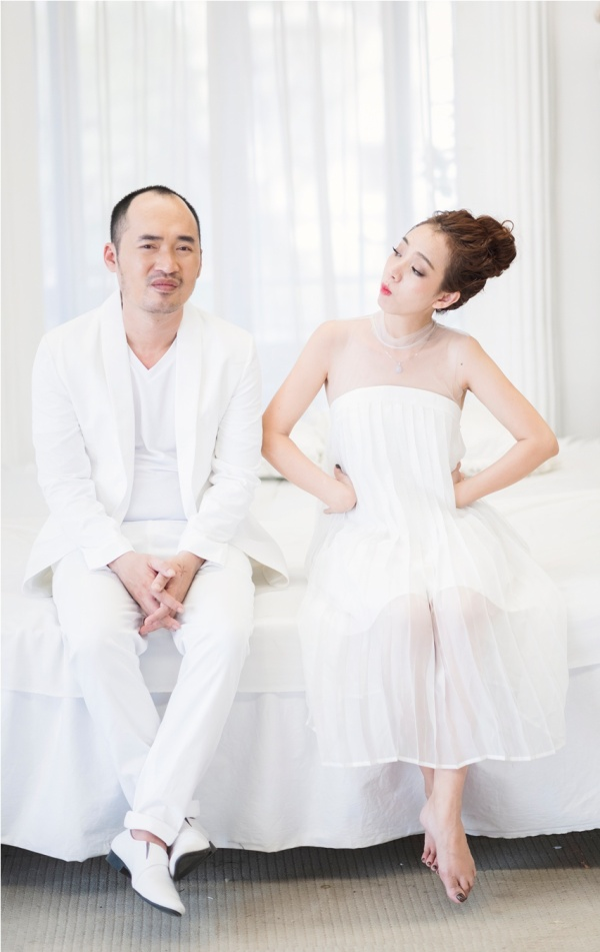 Thu Trang - Tiến Luật kỷ niệm 6 năm ngày cưới: 'Vẫn cứ yêu và say như thế!' - ảnh 8