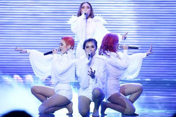 Yến Trang rơi tự do từ độ cao 2m, S Girls mang Hồ Thiên Nga đầy choáng ngợp lên sân khấu Remix New Generation - ảnh 7