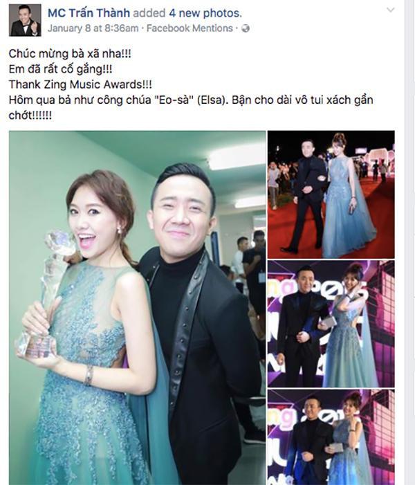 Niềm vui nhân đôi khi thấy thành công của Hari Won…