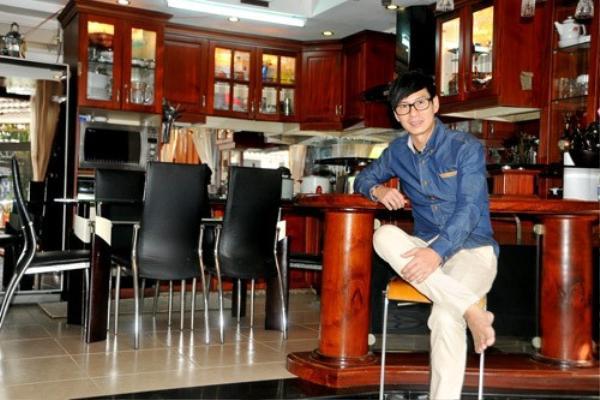 Ngoài ca hát, Lý Hải còn có nguồn thu nhập rất lớn từ việc kinh doanh.
