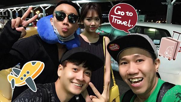 Hari Won ra sân bay tiễn ông xã đi Mỹ lưu diễn cách đây không lâu. Được biết, sau khi sắp xếp công việc ở Việt Nam xong, rất có thể Hari Won sẽ bay sang Mỹ hội ngộ Trấn Thành.