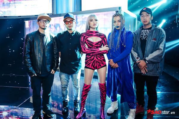 Team Thiều Bảo Trâm bất ngờ thay đổi âm nhạc, vũ đạo trước giờ lên sàn đấu Remix New Generation - ảnh 1